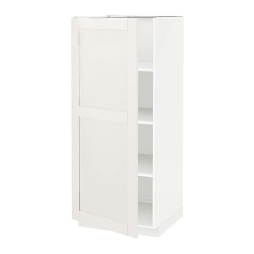 IKEA METOD high cabinet with shelves You can choose to mount the door on the right or left side.