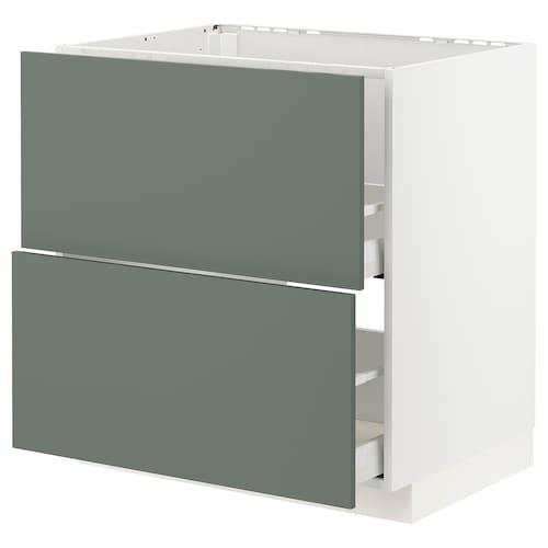 IKEA METOD / MAXIMERA Base cab f sink+2 fronts/2 drawers