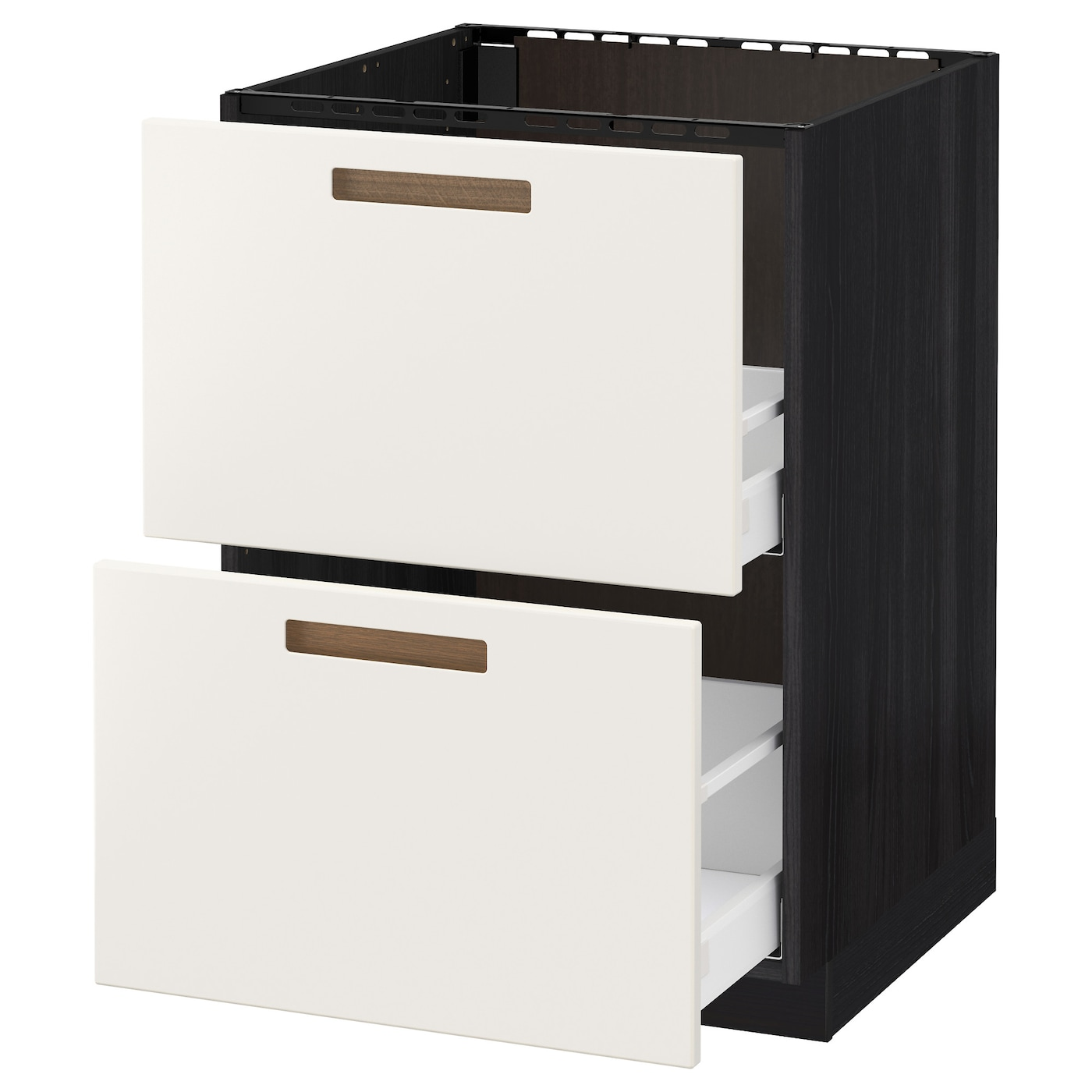 IKEA METOD/MAXIMERA base cab f sink+2 fronts/2 drawers