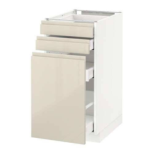 IKEA METOD/MAXIMERA Base Cab Pull Out Storage/2 Fronts Smooth Running
