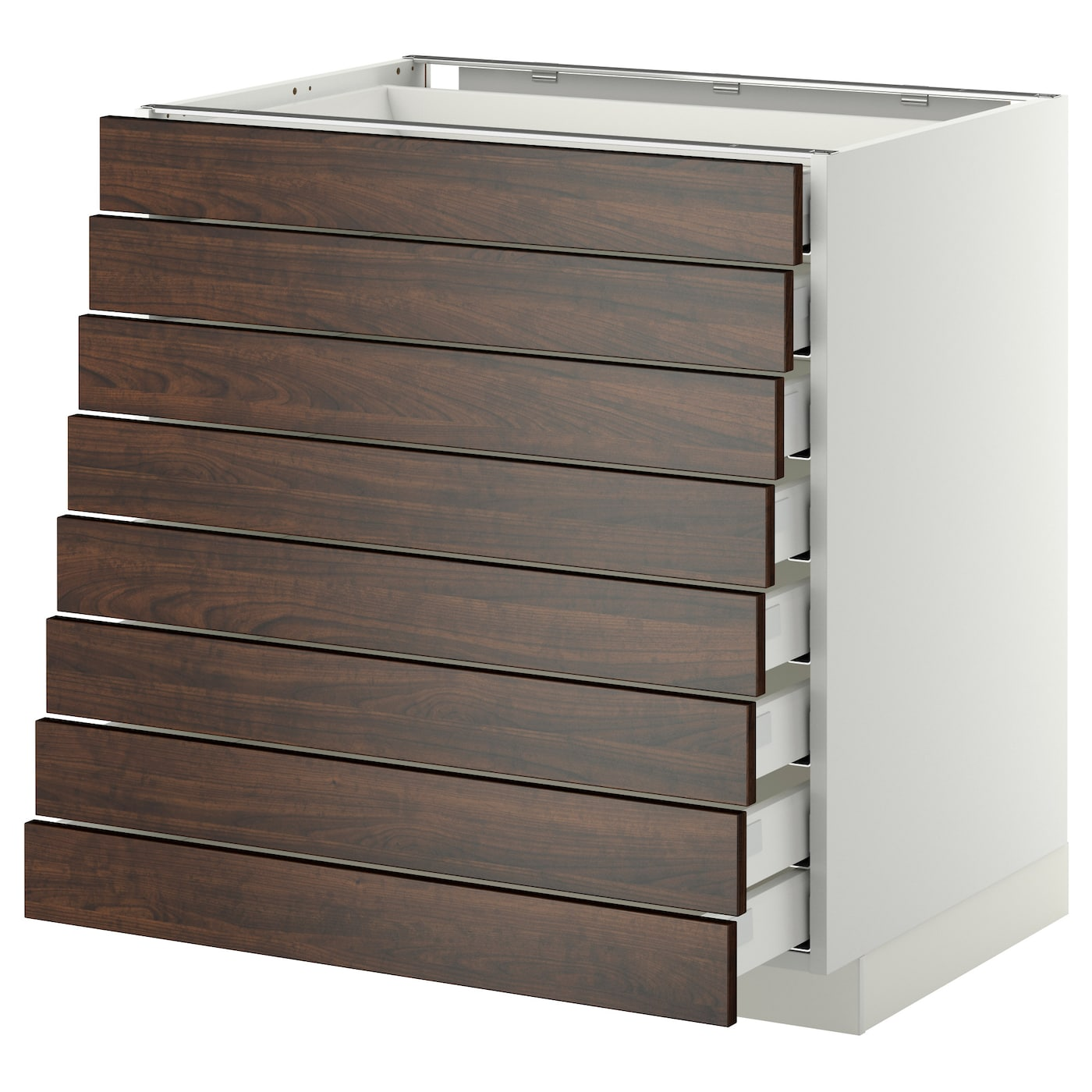 ikea cabinet fronts metod maximera base cabinet 8 fronts 8 low drawers white 17558