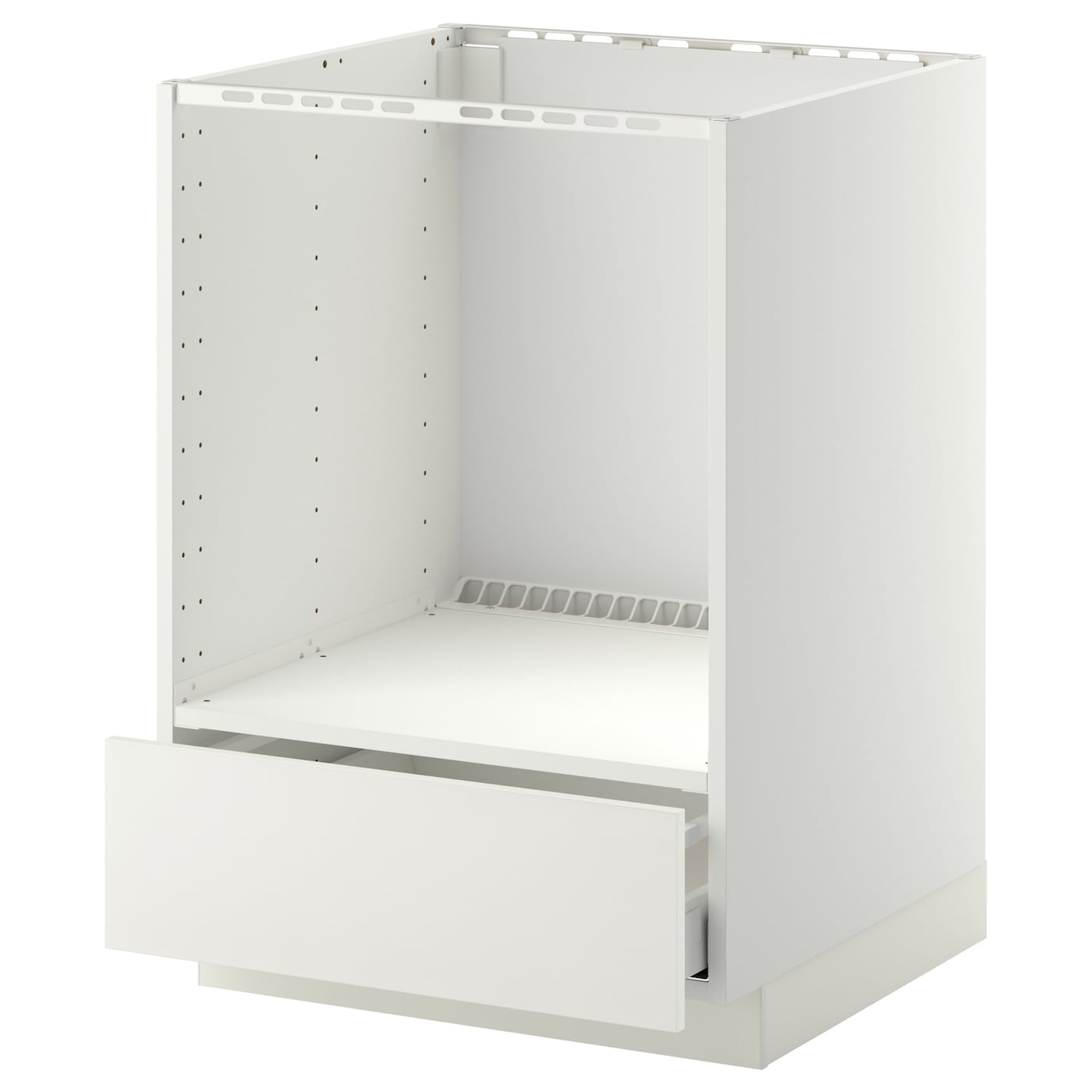 metod maximera base cabinet for oven with drawer white h ggeby white 60x60 cm ikea. Black Bedroom Furniture Sets. Home Design Ideas