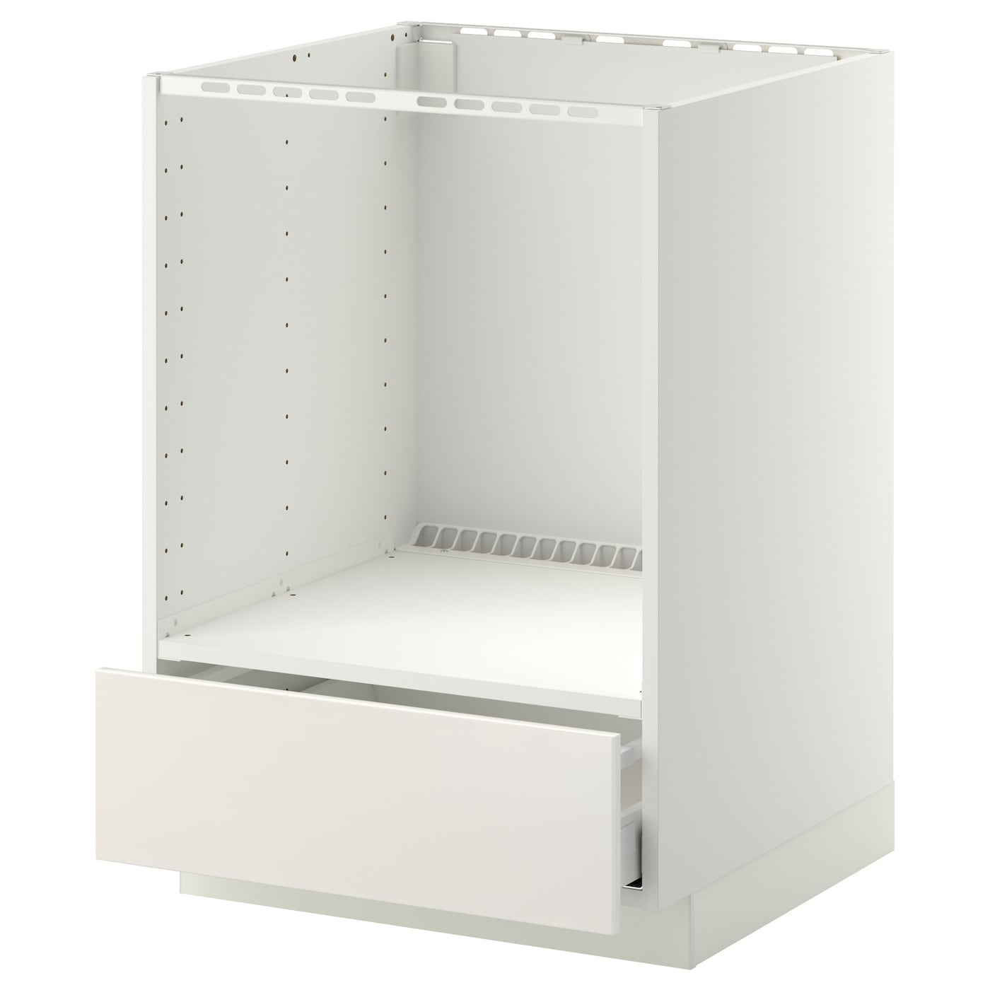 Metod maximera base cabinet for oven with drawer white for Who makes ikea microwaves