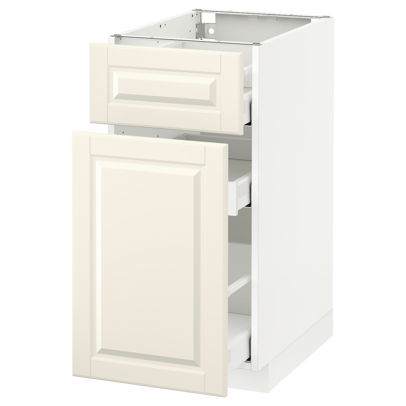 metod maximera base cabinet p out storage drawer white bodbyn off white 40x60 cm ikea. Black Bedroom Furniture Sets. Home Design Ideas