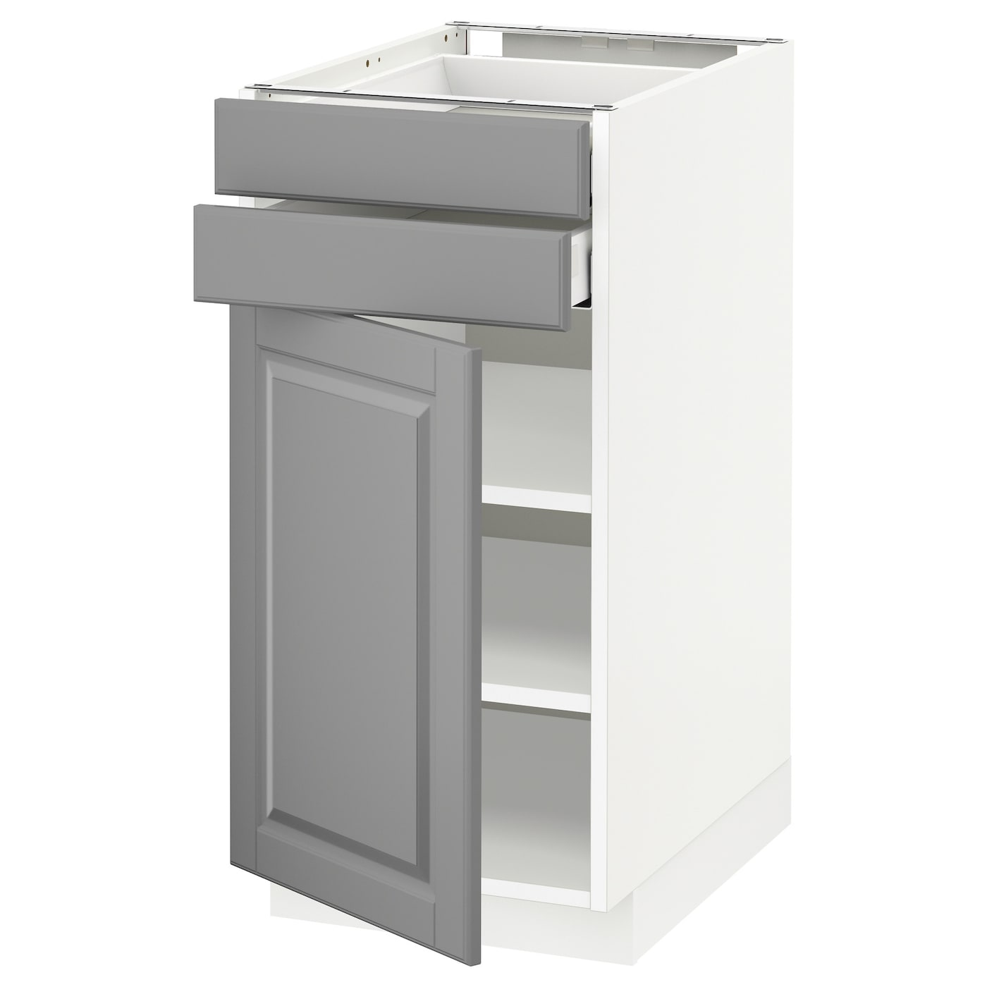 base drawer kitchen cabinets metod maximera base cabinet w door 2 drawers white bodbyn 10948
