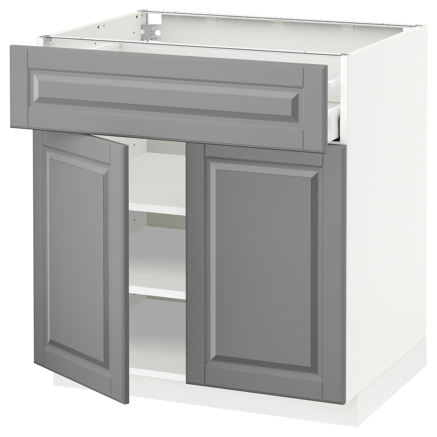 Ringhult Door High Gloss White 60 X 80 Cm: METOD/MAXIMERA Base Cabinet With Drawer/2 Doors White