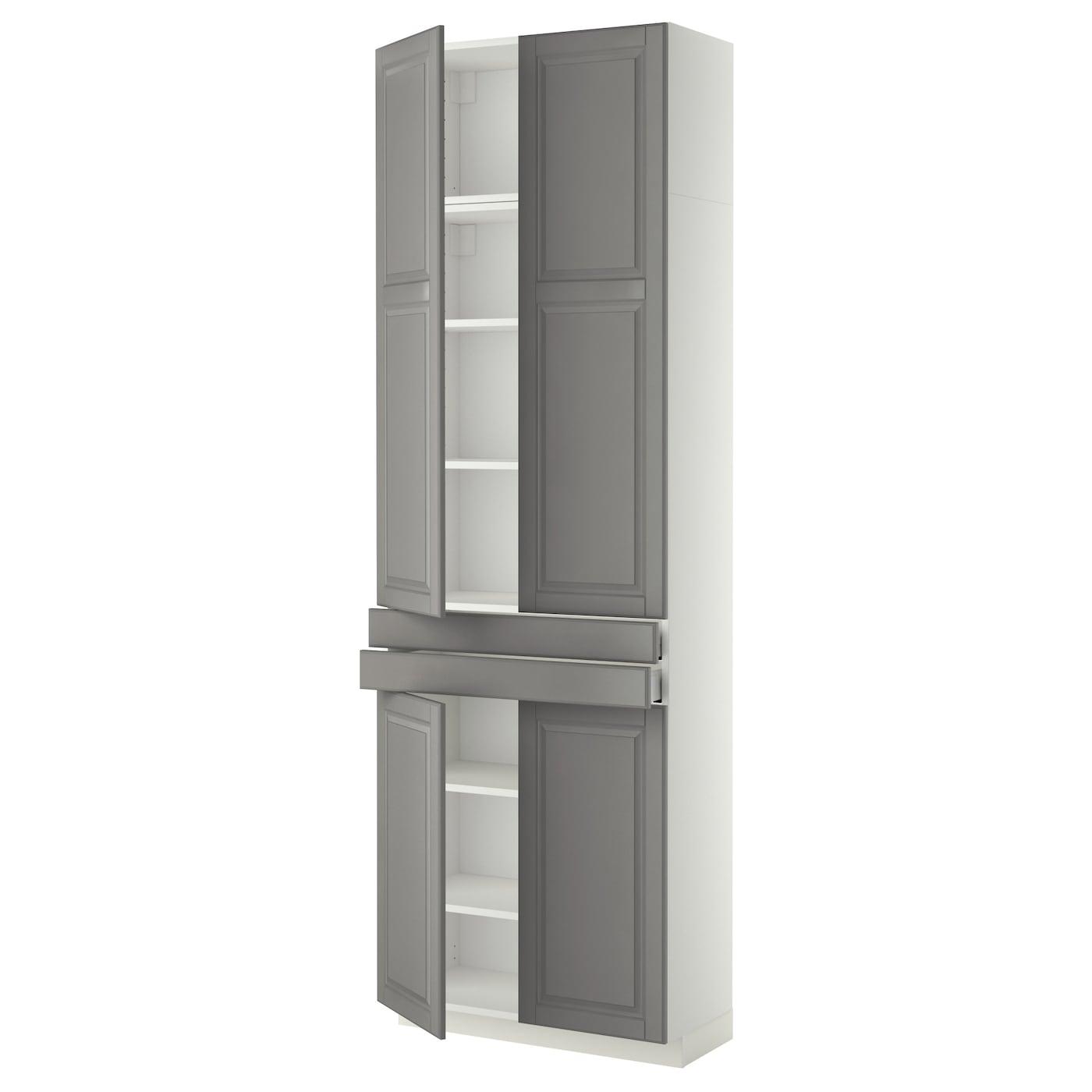 Ikea Metod Maximera Hi Cab W Shlvs 2 Drawers 4 Doors Sy Frame