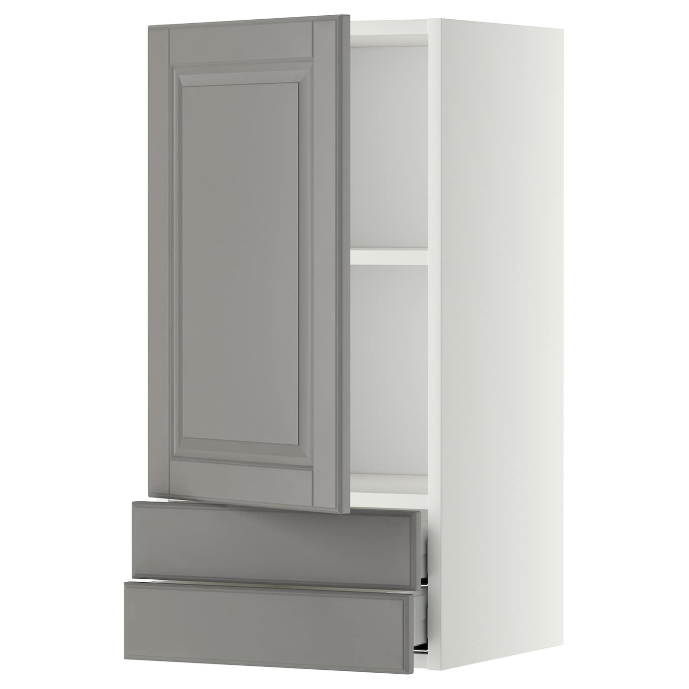 kitchen wall cabinets with drawers metod maximera wall cabinet with door 2 drawers white 8700