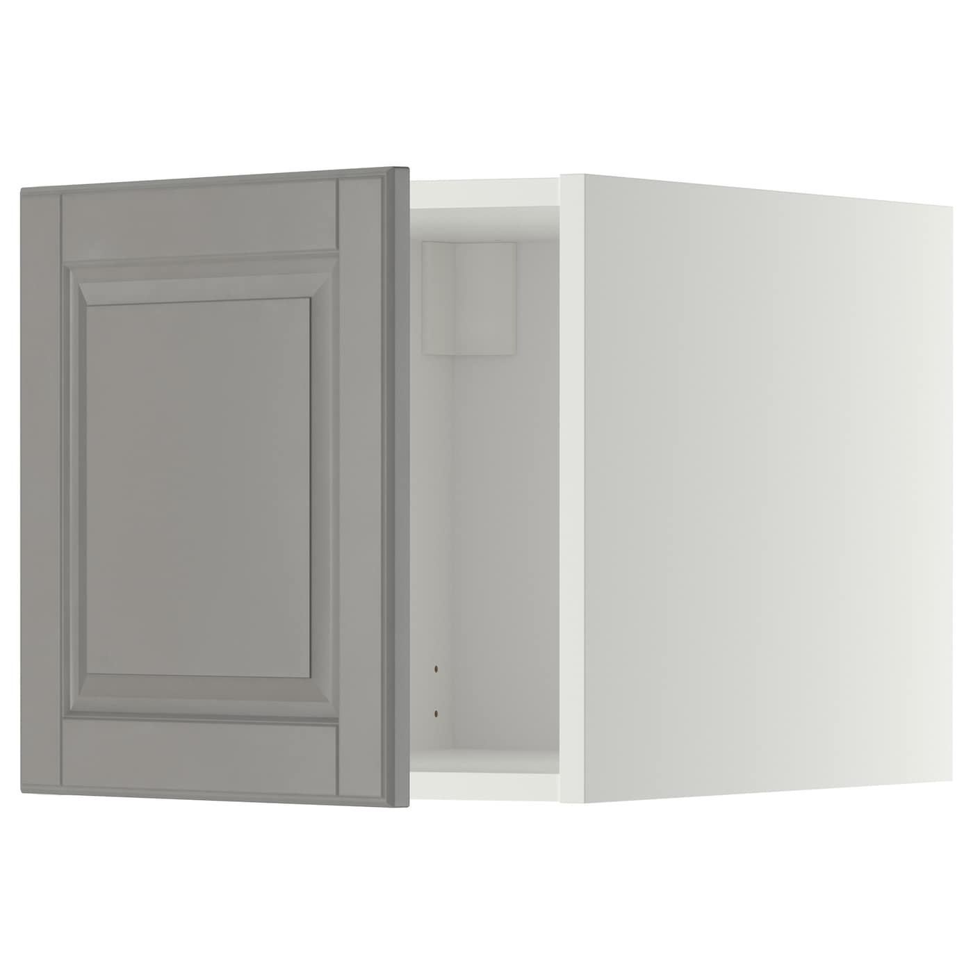 Ikea Kitchen Bodbyn Grey: METOD Top Cabinet White/bodbyn Grey 40 X 40 Cm