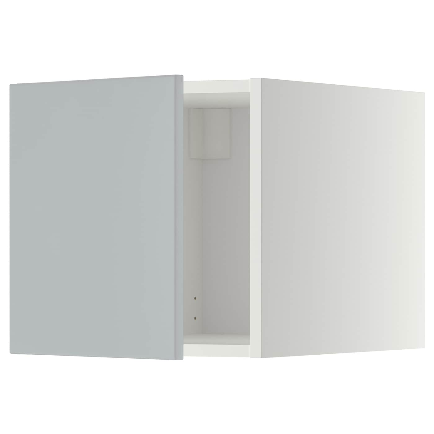 metod top cabinet white veddinge grey 40x40 cm ikea. Black Bedroom Furniture Sets. Home Design Ideas