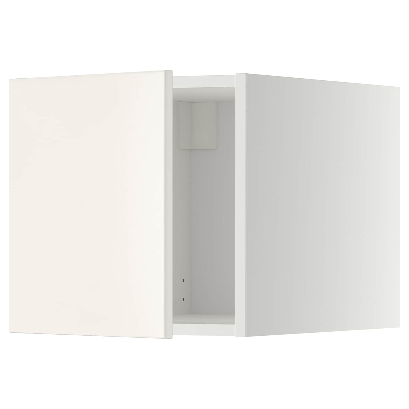 metod top cabinet white veddinge white 40x40 cm ikea. Black Bedroom Furniture Sets. Home Design Ideas