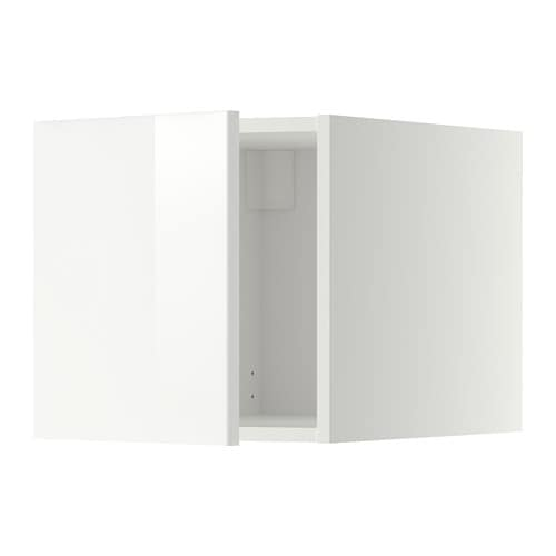Metod Top Cabinet White Ringhult High Gloss White Ikea