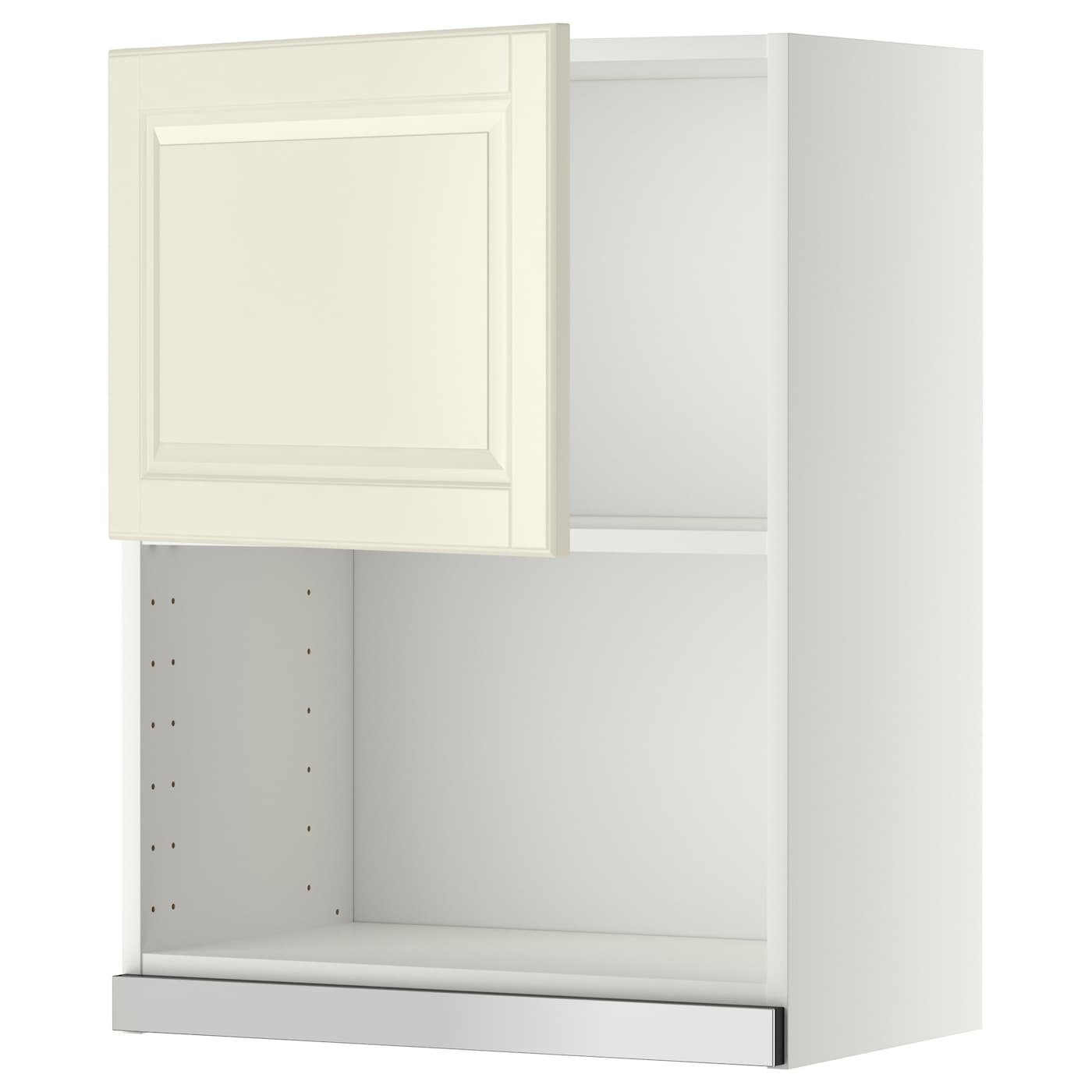 metod wall cabinet for microwave oven white bodbyn off white 60x80 cm ikea. Black Bedroom Furniture Sets. Home Design Ideas