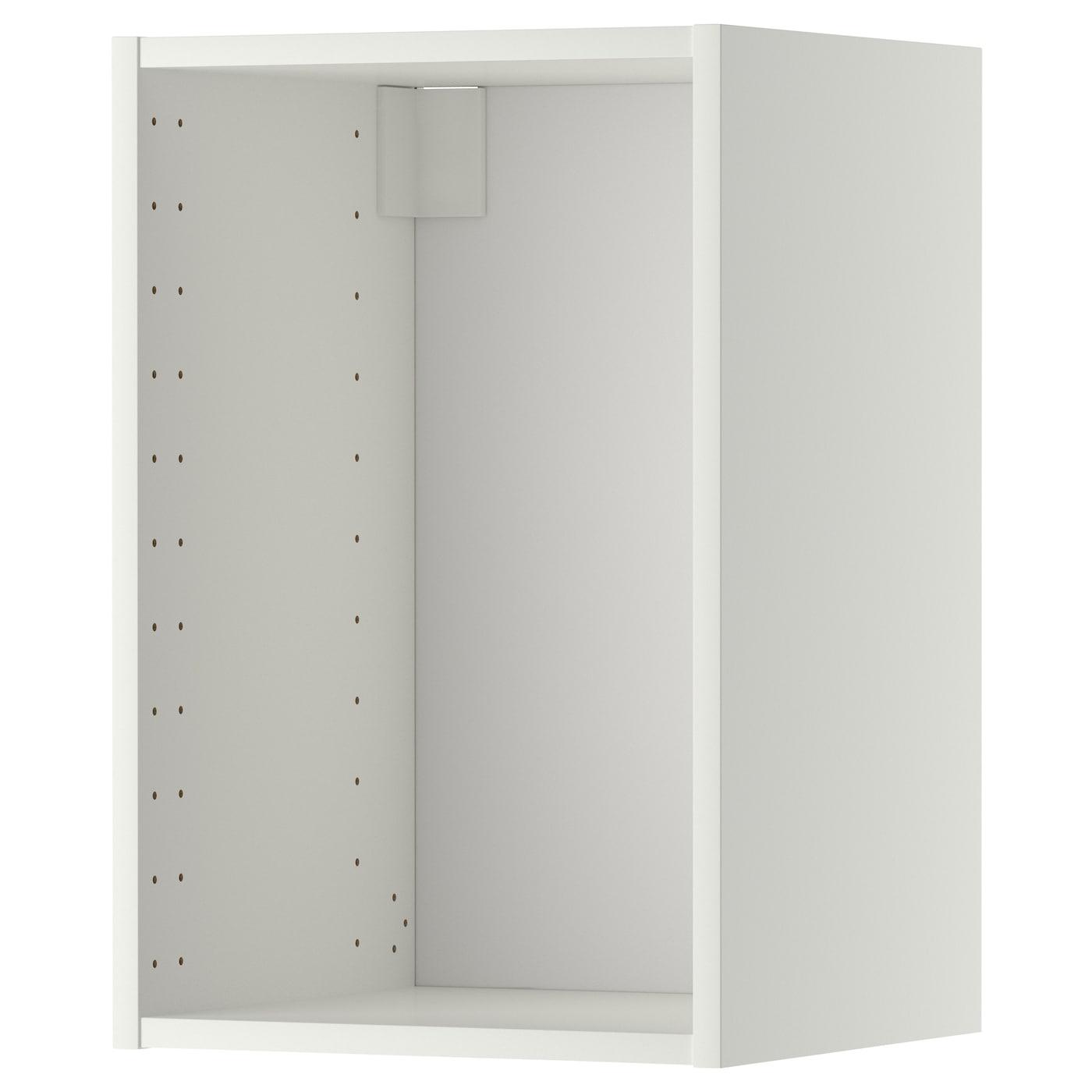 Metod White Wall Cabinet Frame 40x37x60 Cm Ikea