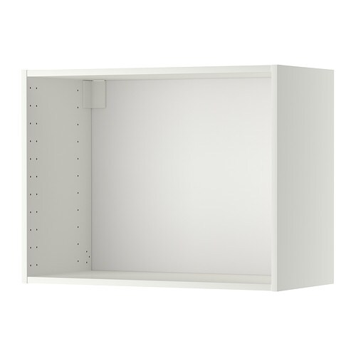 ikea wall cabinets metod wall cabinet frame white 80 x 37 x 60 cm ikea 30122