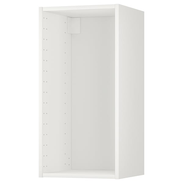 METOD Wall cabinet frame, white, 40x37x80 cm