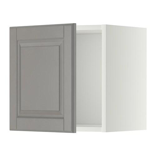 metod wall cabinet white bodbyn grey 40x40 cm ikea. Black Bedroom Furniture Sets. Home Design Ideas