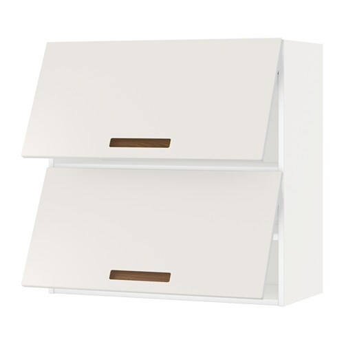 Metod wall cabinet horizontal w 2 doors white m rsta - Ikea lille catalogue ...