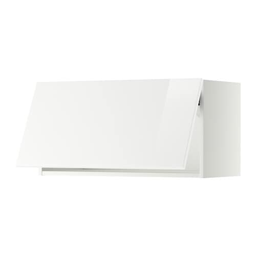 Ordinaire IKEA METOD Wall Cabinet Horizontal Door Lift With Catch For Gentle Closing  Included.