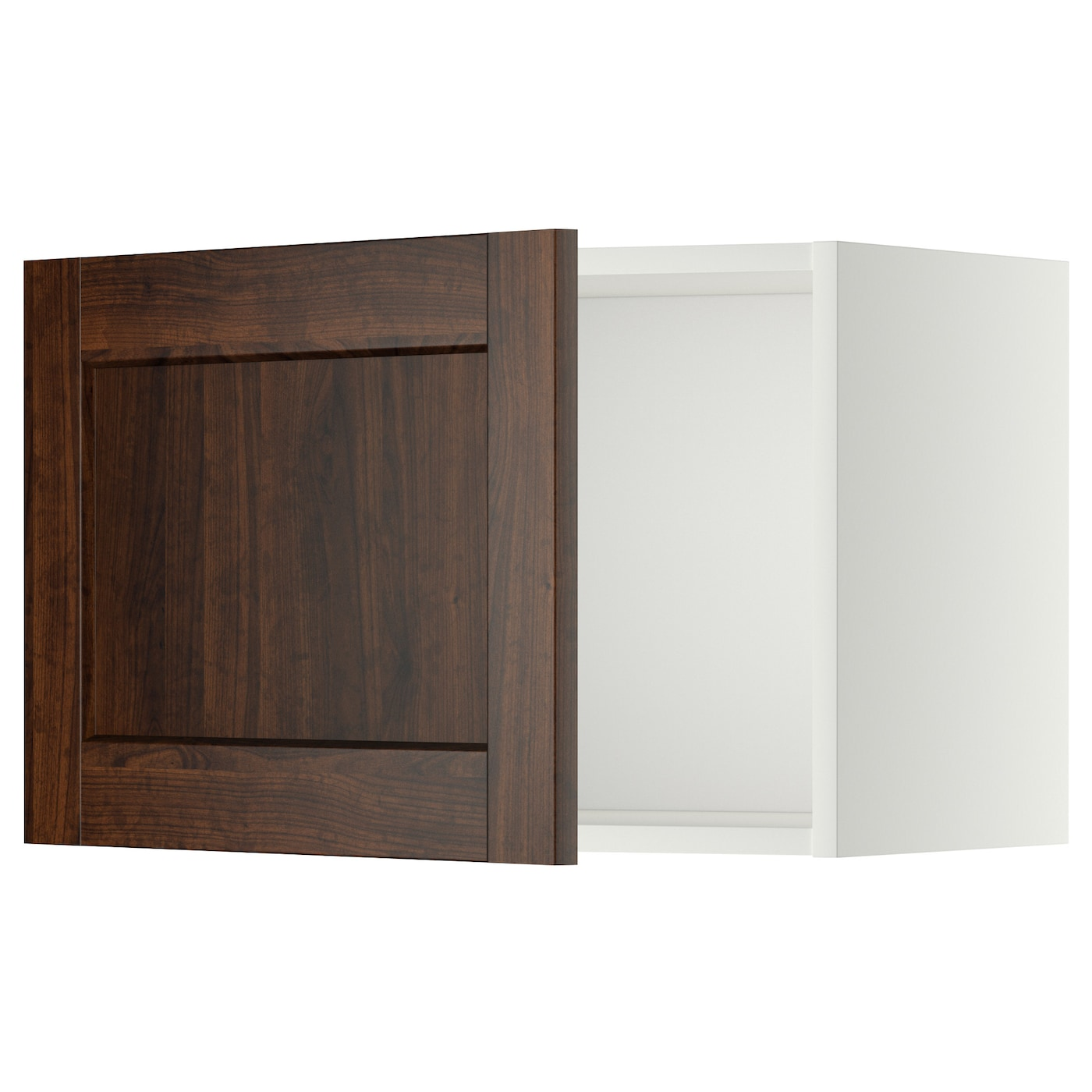 Ikea Kitchen Wall Storage: METOD Wall Cabinet White/edserum Brown 60x40 Cm