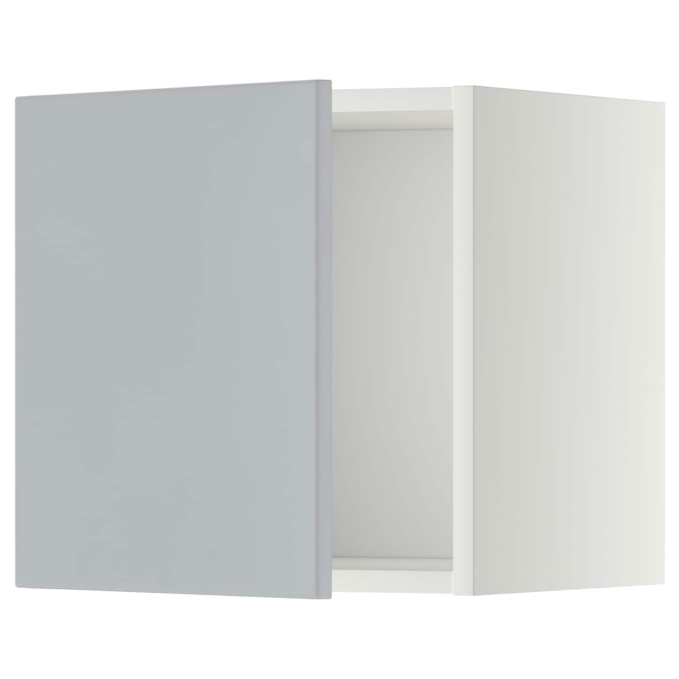 metod wall cabinet white veddinge grey 40x40 cm ikea. Black Bedroom Furniture Sets. Home Design Ideas