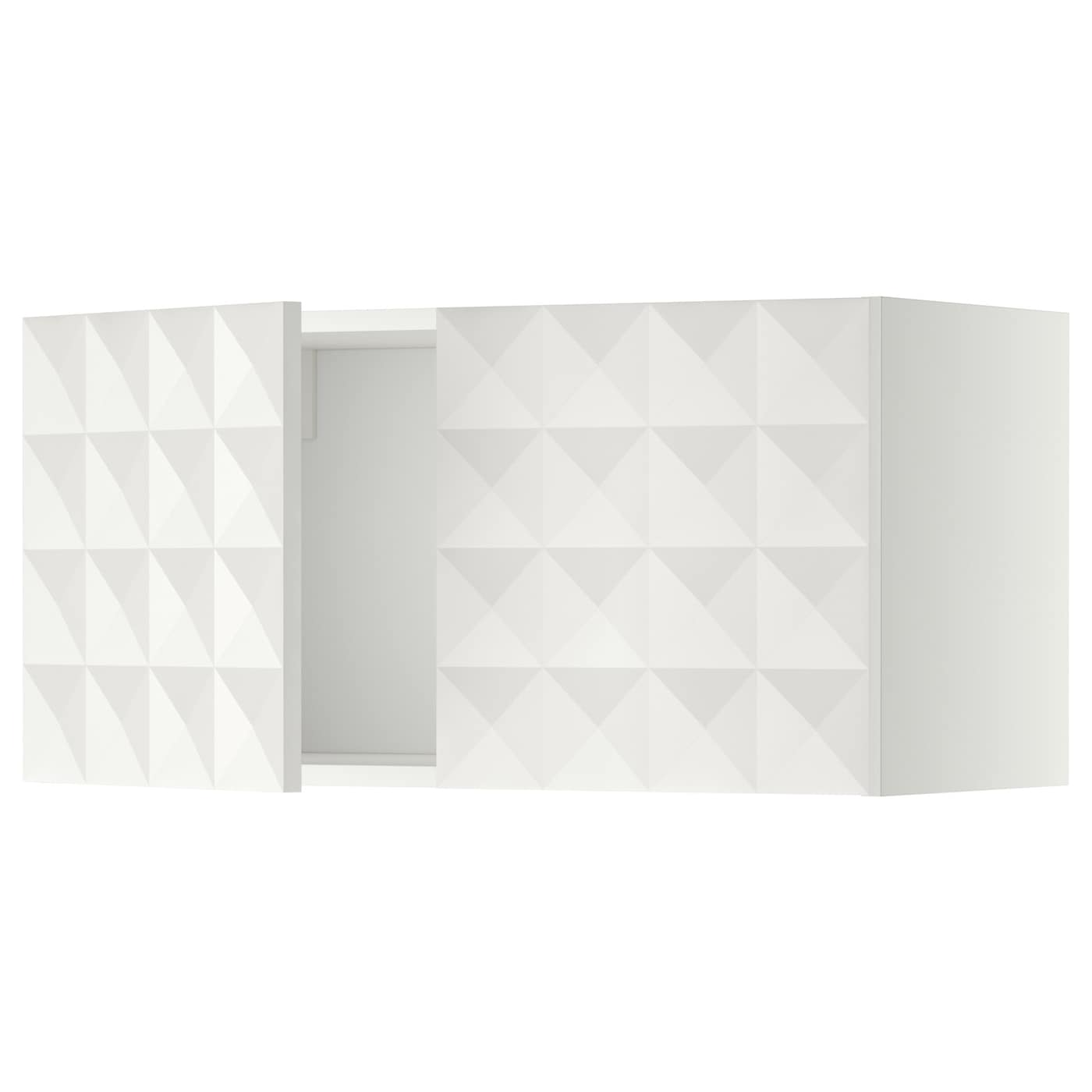 Ikea Kitchen Cabinet Construction: METOD Wall Cabinet With 2 Doors White/herrestad White 80 X