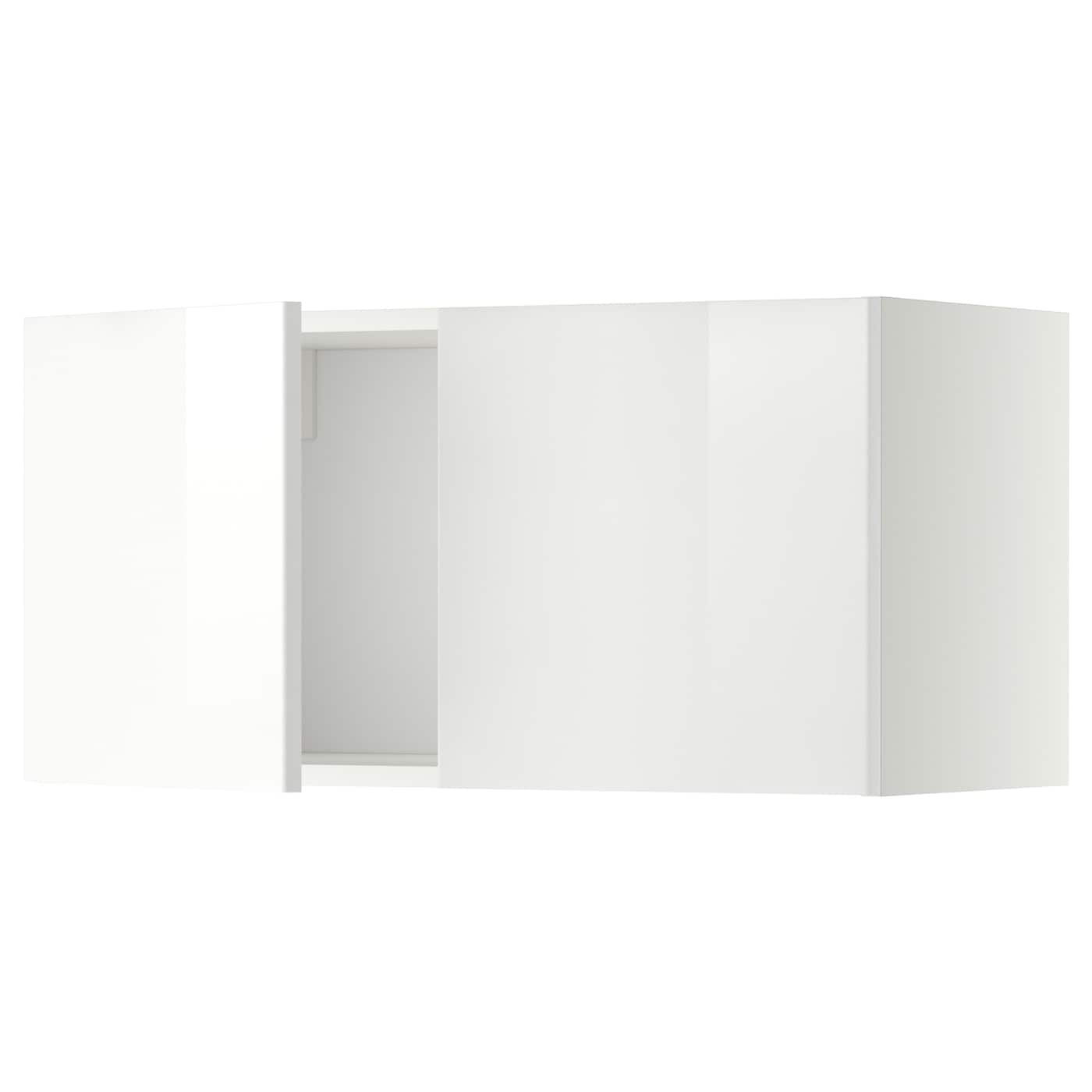 IKEA METOD Wall Cabinet With 2 Doors Sturdy Frame Construction 18 Mm  #6E6E5D 2000 2000 Parquet In Sala Da Pranzo