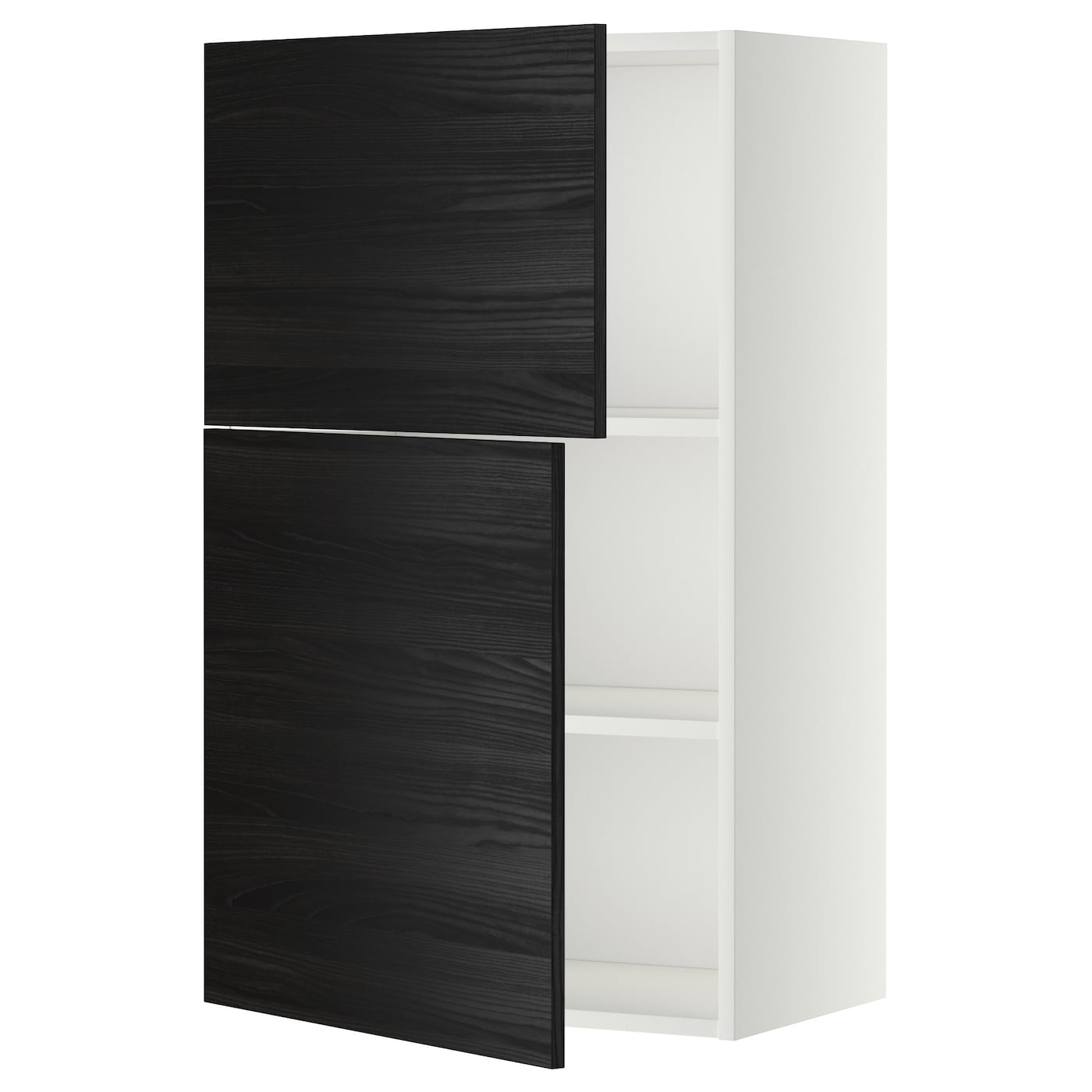 Metod Wall Cabinet With Shelves: METOD Wall Cabinet With Shelves/2 Doors White/tingsryd