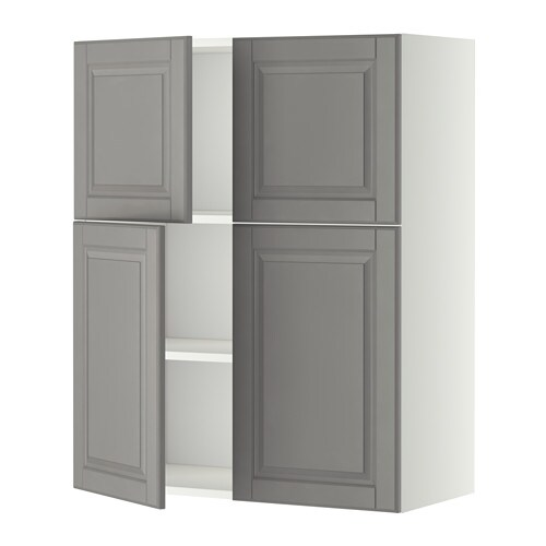 Metod Wall Cabinet With Shelves: METOD Wall Cabinet With Shelves/4 Doors