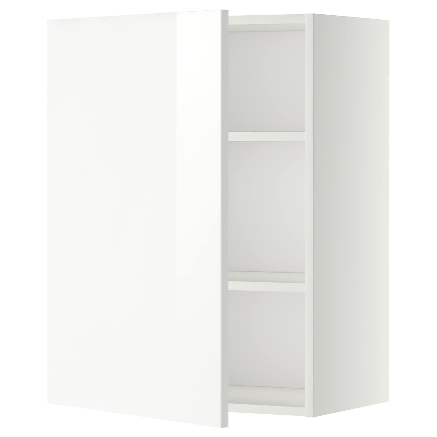 METOD Wall cabinet with shelves White ringhult white 60x80 cm IKEA
