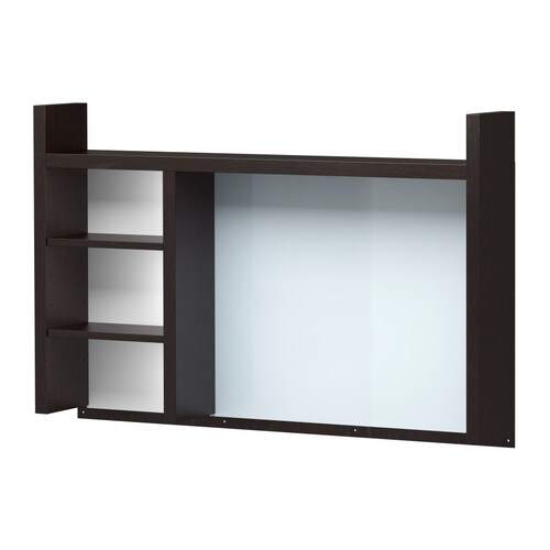 micke add on unit high black brown ikea. Black Bedroom Furniture Sets. Home Design Ideas