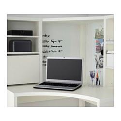 Micke corner workstation white 100x142 cm ikea for Ikea scrivania micke