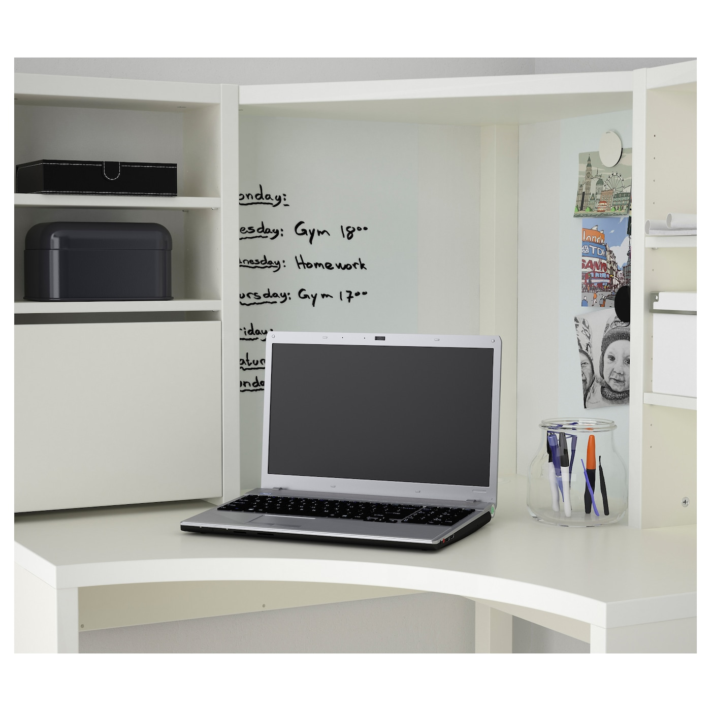 uk finish color amazon corner office white desk home bray dp co kitchen