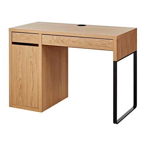 micke desk oak effect 105x50 cm ikea. Black Bedroom Furniture Sets. Home Design Ideas