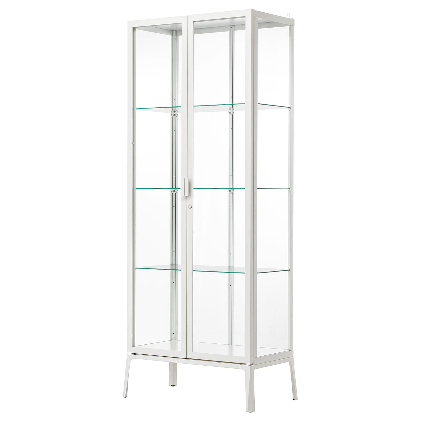 Ikea milsbo glass door cabinet