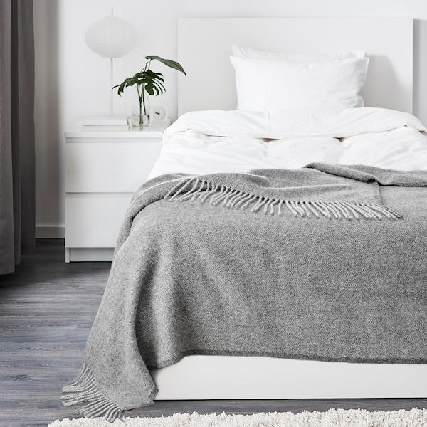 MOALIE Throw, grey, 150x200 cm
