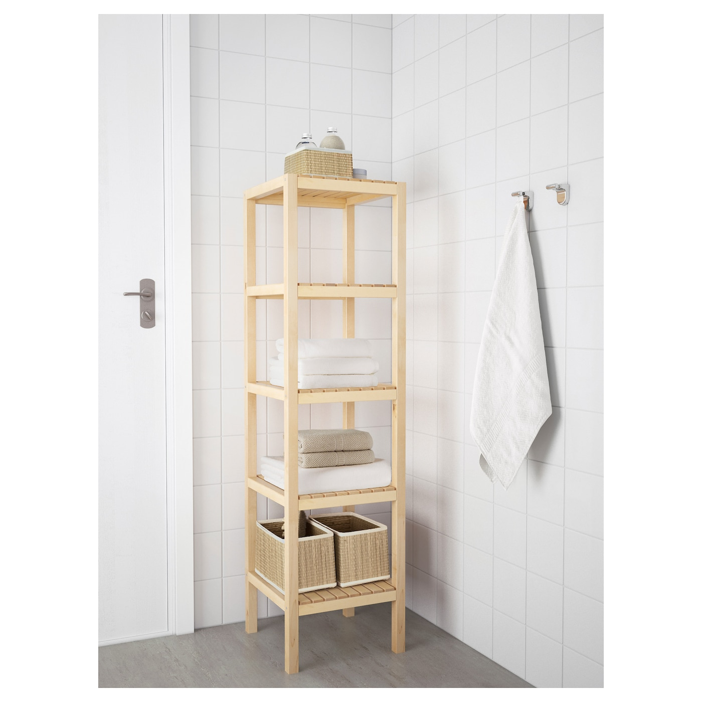 molger shelving unit birch x cm  ikea - ikea molger shelving unit the open shelves give an easy overview and easyreach