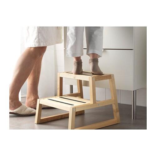 molger step stool birch 41x44x34 cm ikea. Black Bedroom Furniture Sets. Home Design Ideas