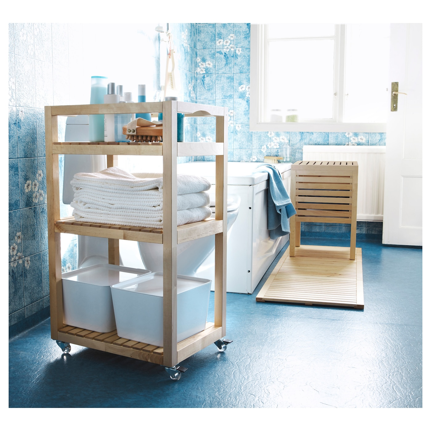 molger trolley birch 33x47x76 cm ikea. Black Bedroom Furniture Sets. Home Design Ideas