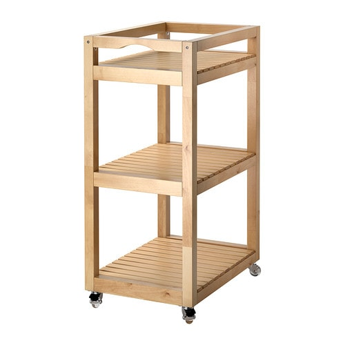 MOLGER Trolley IKEA Easy to move - castors included.