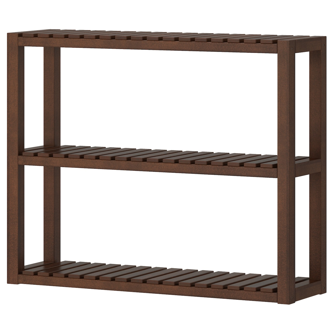 IKEA MOLGER wall shelf The open shelves give an easy overview and easy reach.