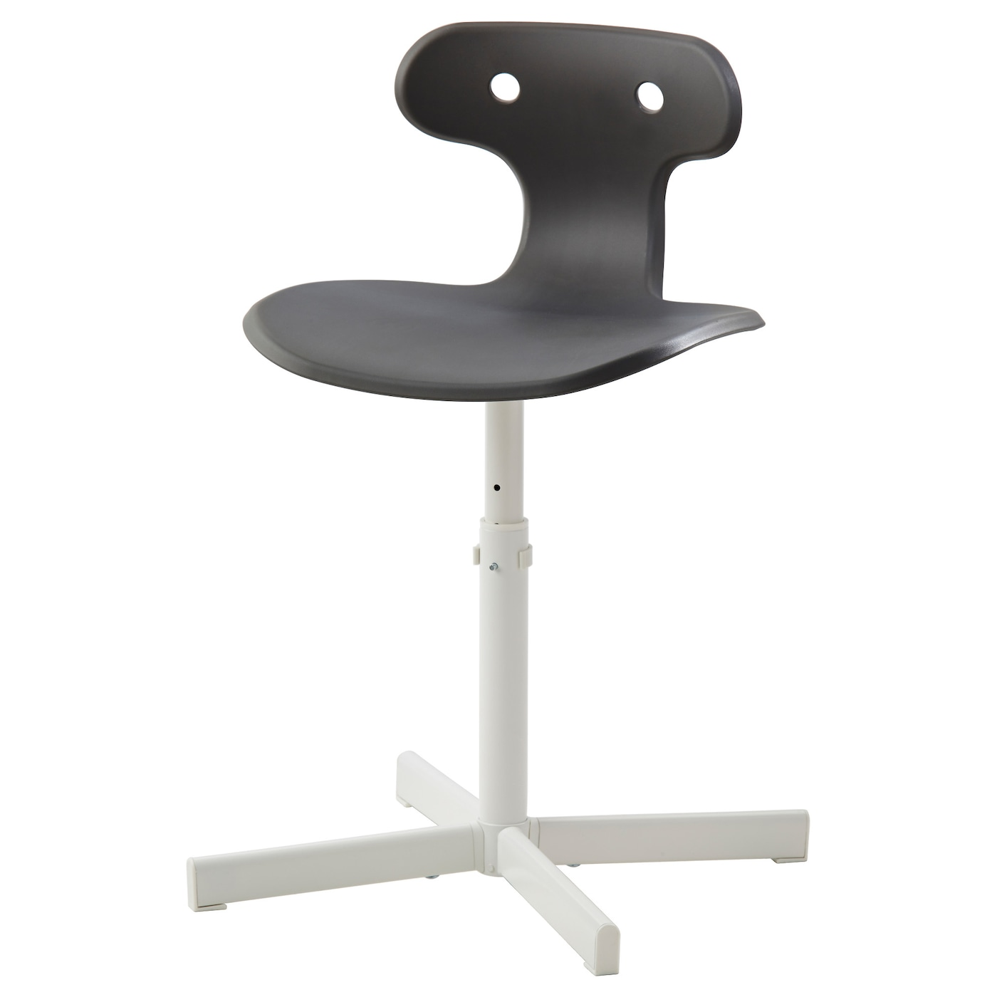 molte desk chair grey ikea