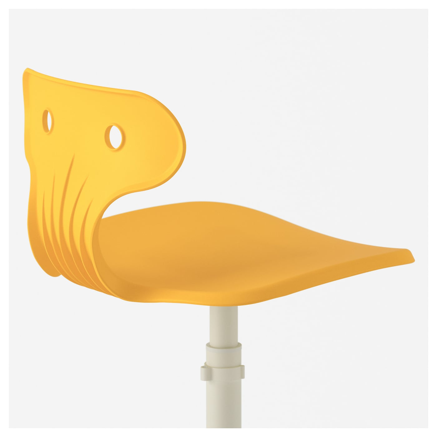 ikea molte desk chair your back gets support and extra relief from the builtin
