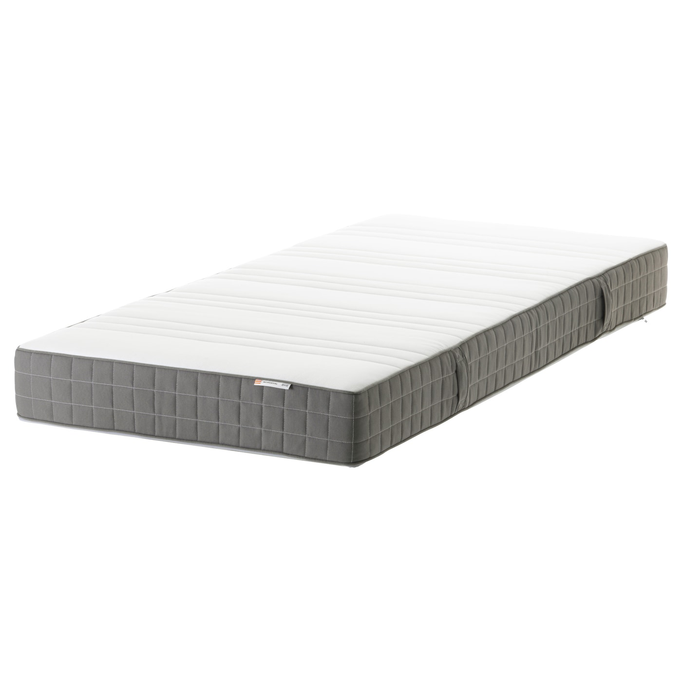 MORGEDAL Foam mattress Firm dark grey Standard Single IKEA