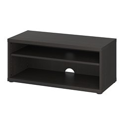 IKEA MOSJ TV Bench 1 Adjustable Shelf Adjust Spacing According To Your Own Needs