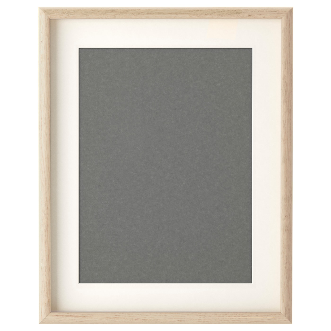 Mossebo frame white stained oak effect 40x50 cm ikea for Ikea picture holder