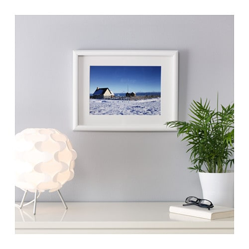 mossebo frame white 30x40 cm ikea. Black Bedroom Furniture Sets. Home Design Ideas