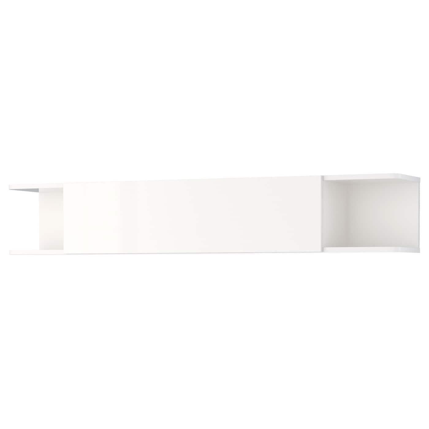 mostorp wall shelf high gloss white 160x27 cm ikea. Black Bedroom Furniture Sets. Home Design Ideas