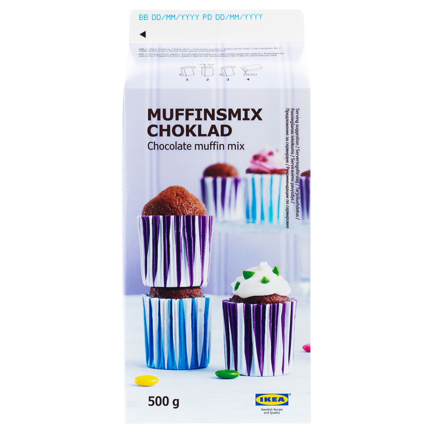IKEA MUFFINSMIX CHOKLAD muffin mix, chocolate