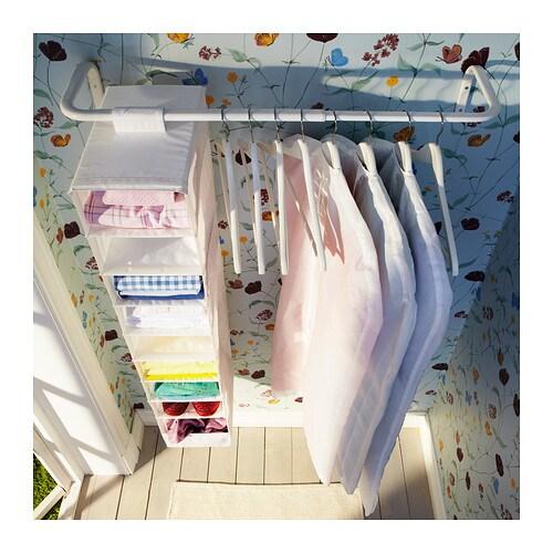 mulig clothes bar white 60 90 cm ikea. Black Bedroom Furniture Sets. Home Design Ideas
